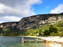 Garda beach