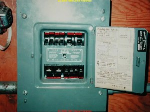 Panel with no main shutoff