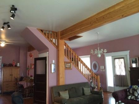 Living room beam