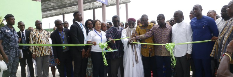 zoomlion ghana unveil recycling plant