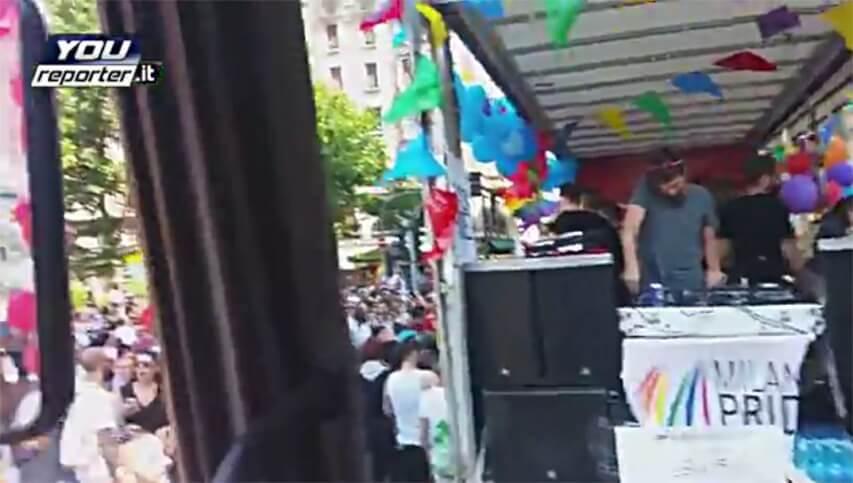Sabato pomeriggio il Corteo del Milano Gay Pride