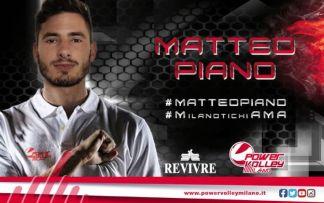 PVM_MatteoPiano-1-324x203 Volley, colpaccio della Revivre Milano: c'è l'azzurro Piano Altri sport Sport