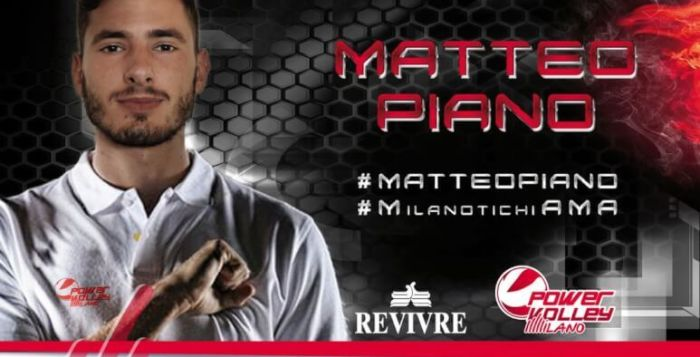 piano, volley, revivre milano