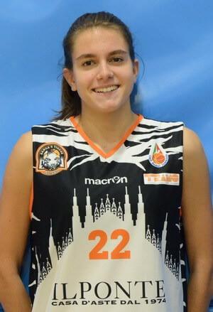 Giulia-Trianti-300 - Basket: la Sanga Milano acquista Trianti e punta ad una grande stagione  - Basket Sport