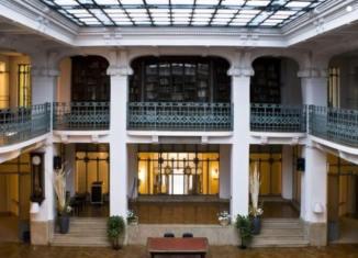 circolo filologico milanese, sala liberty