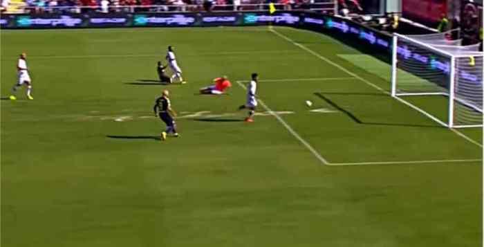 Inter contro Crotone 2017