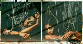 IMG_20171127_143941-324x174 L'arte è femminile: artisti emergenti contro la violenza sulle donne Costume e Società Cultura tempo libero