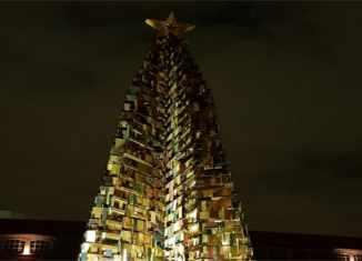 Albero di Natale Green e albero della legalità