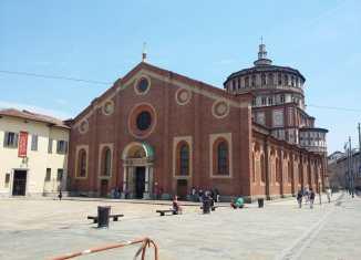 Chiesa di Santa Maria Delle Grazie e il cenacolo Vinciano a Milano