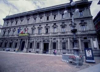 Palazzo marino, sede del comune di Milano