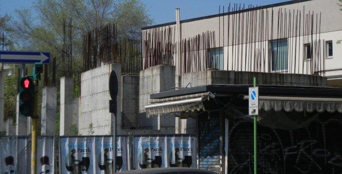 il cantiere abbandonato di Piazzale Accursio
