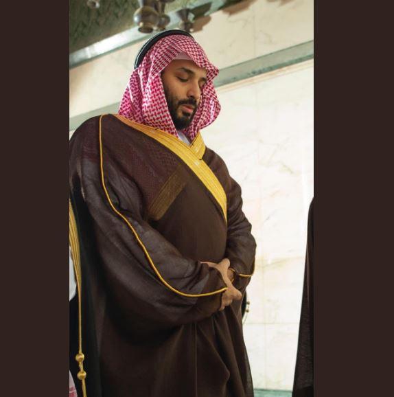 محمد بن سلمان في الحرم