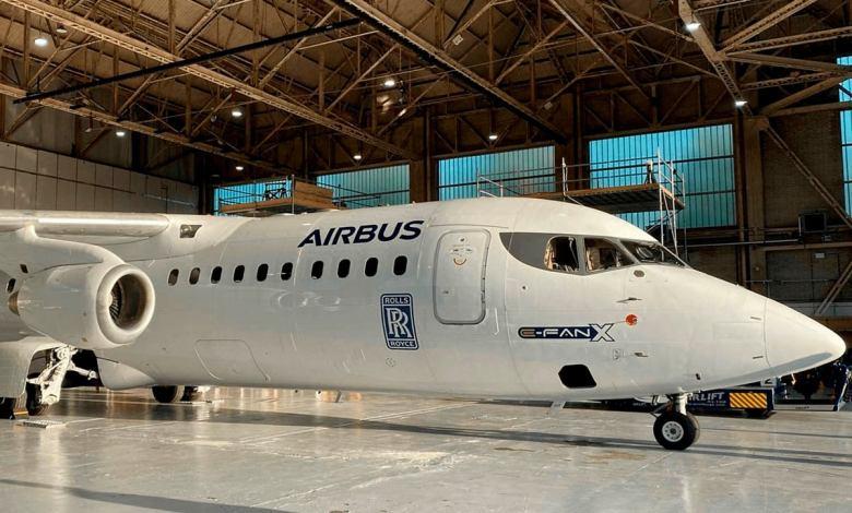 airbus-cancela-el-proyecto-e-fan-x:-las-baterias-y-el-hidrogeno,-el-futuro-de-la-aviacion-electrica