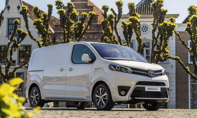 toyota-proace-electric:-una-nueva-furgoneta-electrica-que-se-fabricara-en-espana