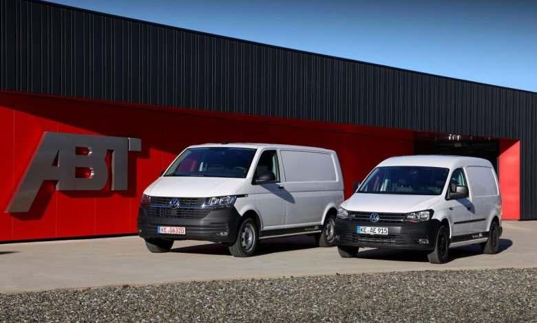 volkswagen-e-caddy-y-e-transporter-abt:-dos-nuevas-furgonetas-electricas-para-el-mercado-espanol