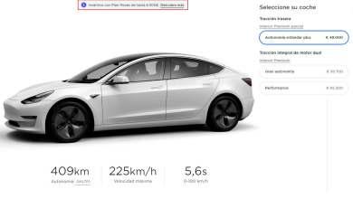 Photo of Ya se puede comprar en España el Tesla Model 3 por 42.290 euros (e incluso menos)