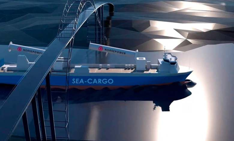 las-velas-de-rotor-plegable-mas-grandes-del-mundo-propulsaran-al-sc-conector-por-el-mar-del-norte
