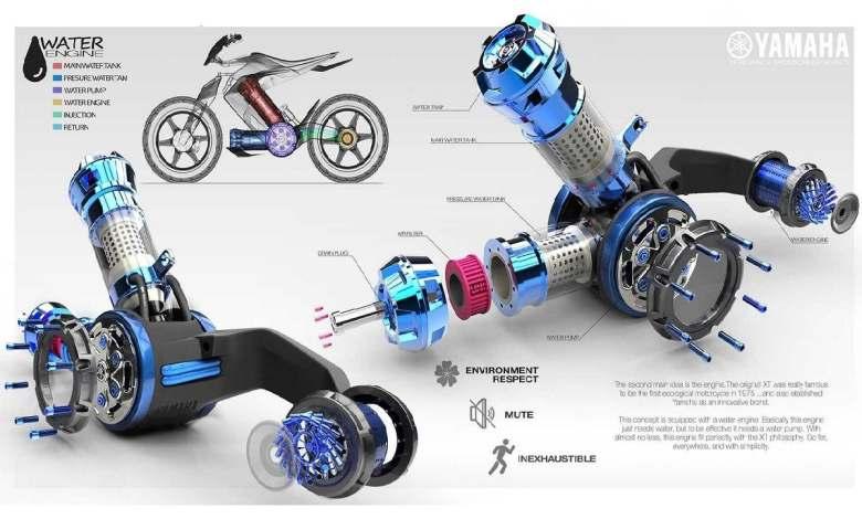 ¿es-posible-hacer-funcionar-una-moto-con-agua?-yamaha-y-su-xt500-h2o-creen-que-si