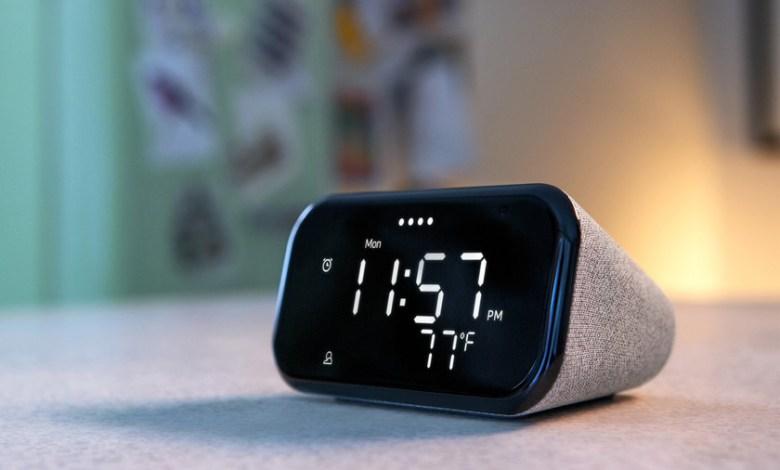 lenovo-smart-clock-essential:-el-nuevo-reloj-inteligente-de-lenovo-llega-con-google-assistant-y-luz-nocturna