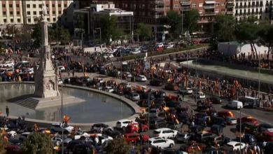 Photo of VOX vuelve a manifestarse en coche contra el estado de alarma en Madrid