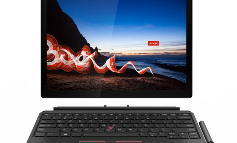 lenovo-thinkpad-x12-detachable,-x1-carbon-gen-9-y-x1-yoga-gen-6:-estrenan-dolby-voice-y-el-modelo-x12-detachable-se-transforma-en-tablet