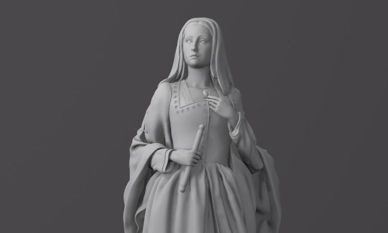 almeida-homenajea-a-la-reina-juana-i-de-castilla-con-una-estatua-en-el-retiro