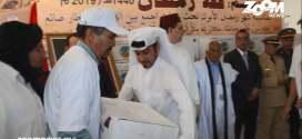 المؤسسة العالمية القطرية للمحميات الطبيعية والحياة الفطرية توزع أزيد من 4000 قفة رمضانية بإقليم أسا الزاك