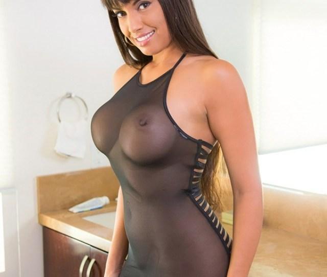 Big Tits Brunette Babe Latina Mercedes Carrera Th Street Latinas
