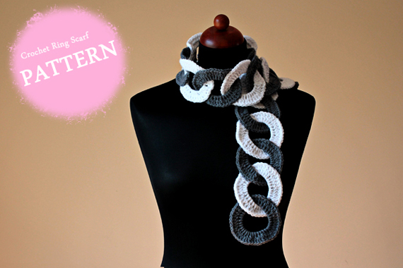 Crochet Ring Scarf