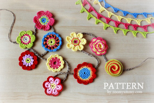 pattern-crochet-flowers-collection-mini-bunting
