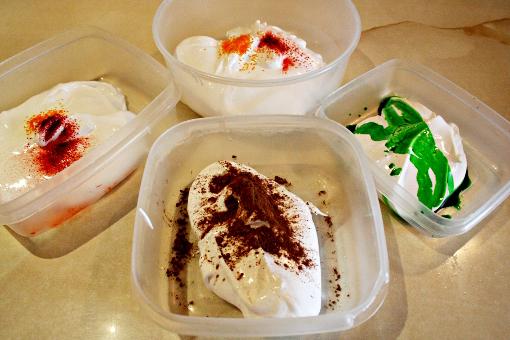 halloween-pumpkin-sugar-cookies-food-coloring-before-mixing
