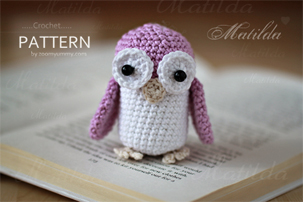 crochet matilda the owl amigurumi