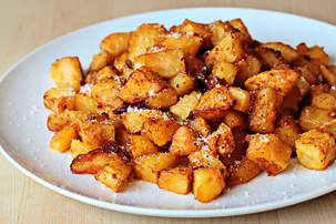 Parmesan roasted potatoes recipe with step by step pictures, how to make Parmesan roasted potatoes, recipe, ingredients, pictures, images
