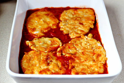 chicken Parmesan recipe with step by step pictures
