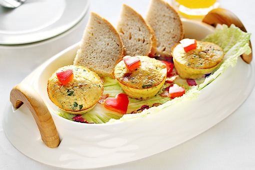 scrambled egg muffins step by step recipe with pictures