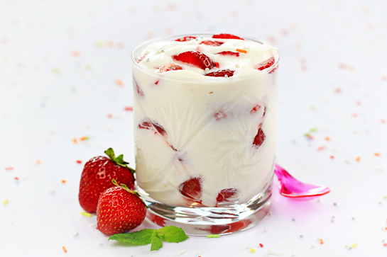 berry parfaits recipe with step by step pictures