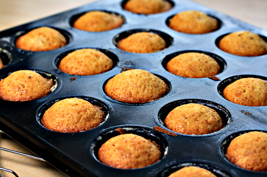 donut mini muffins step by step recipe with pictures baked out of the oven muffins