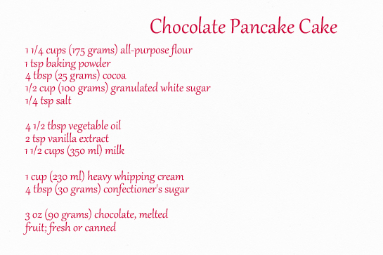 chocolate-pancake-cake-ingredients