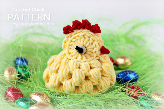 New Pattern Crochet Chicks Crafts Zoom Yummy Crochet Food