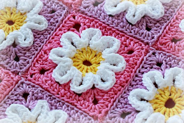 crochet-3D-squares