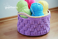 Big Crochet Basket