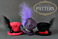 Crochet Mini Top Hats