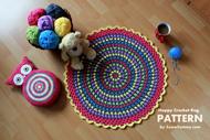 Happy Crochet Rug
