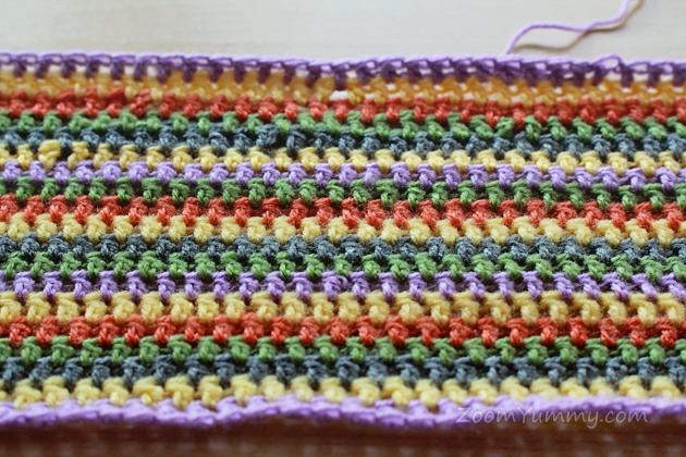 crochet infinity scarf free pattern