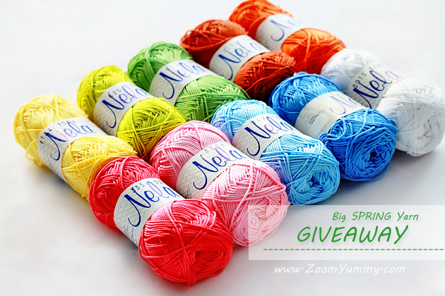 big spring yarn giveaway on zoomyummy.com - winner
