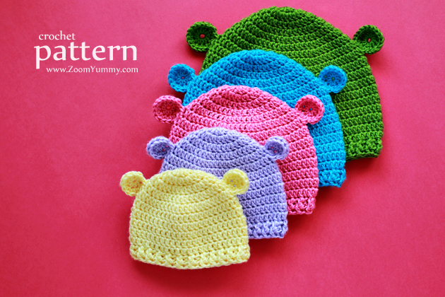 New Pattern Crochet Hats For Babys First 3 Years Crochet Zoom