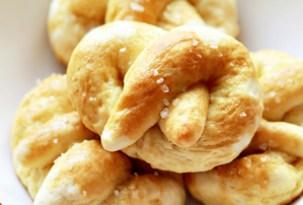 Hot Buttered Fluffy Pretzels