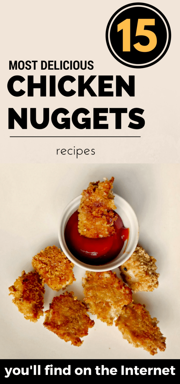 15 most delicious chicken nuggets recipes you 39 ll find on for The most delicious recipes