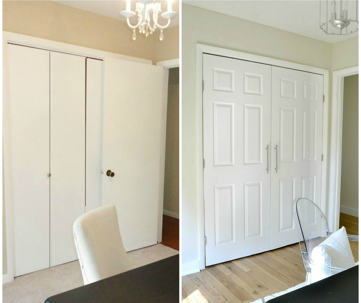 Diy Closet Door Ideas Transformation Zoomzee