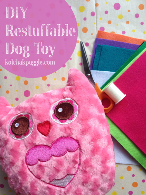 DIY-Dog-Toy-Restuffable